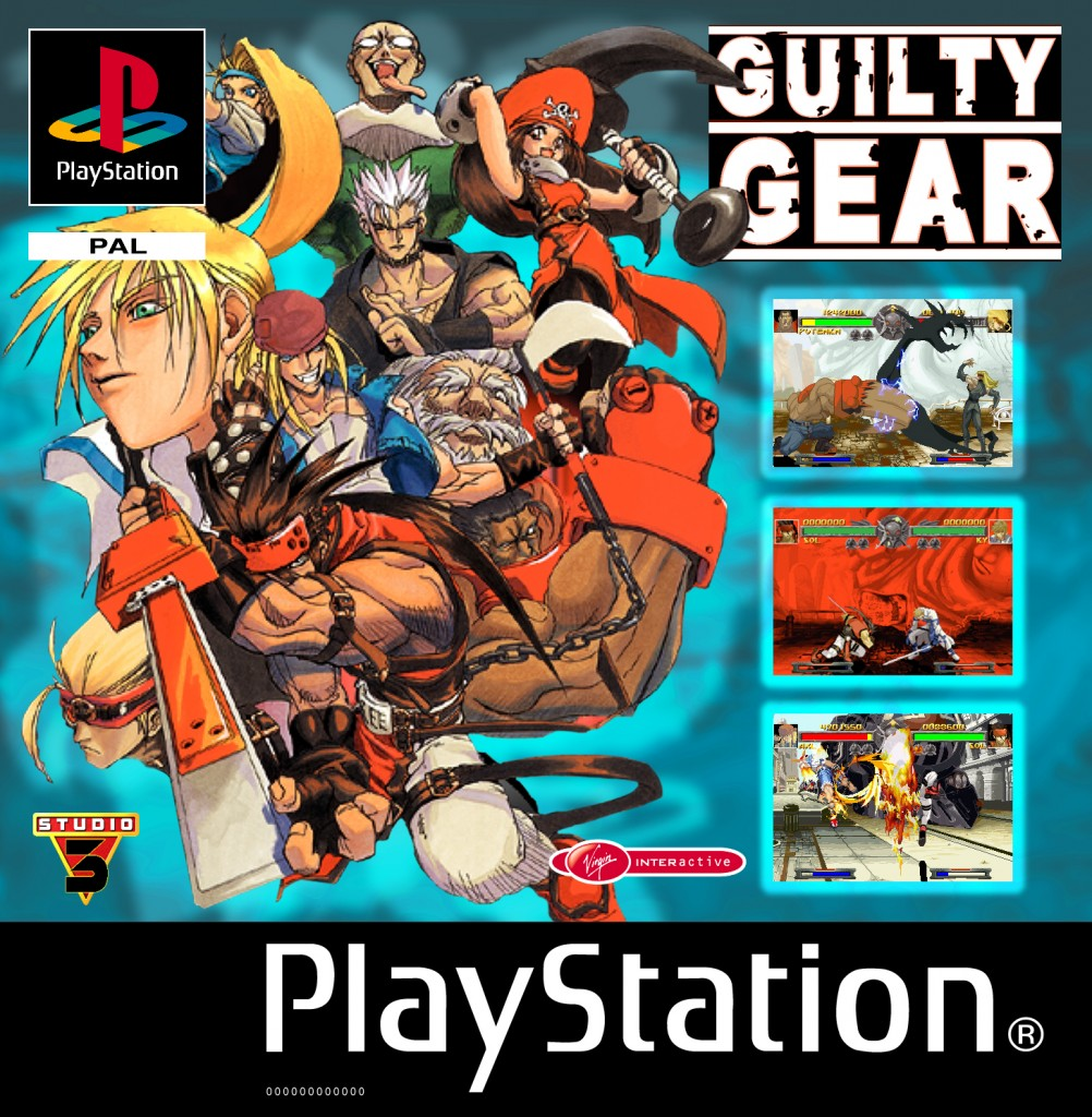 System 3 Guilty Gear Ps1