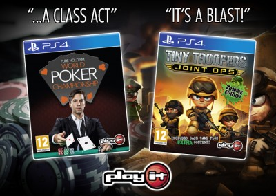 Two great new PS4 games on the Play It label!