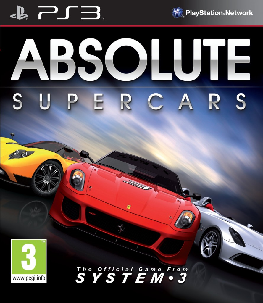 system 3 absolute supercars ps3. Black Bedroom Furniture Sets. Home Design Ideas