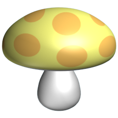 Bugs_Yellow_Toadstool_240x240