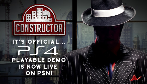 Constructor PS4 Demo Now Live!
