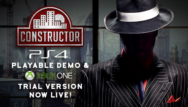 Constructor PS4 Demo & Xbox One Trial Version Now Live!