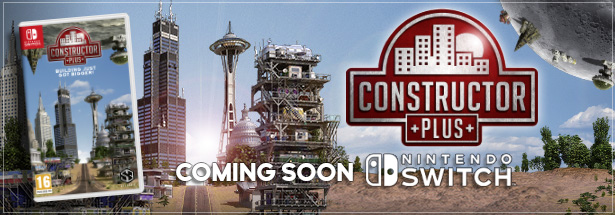 Constructor Plus: Coming Soon to Nintendo Switch