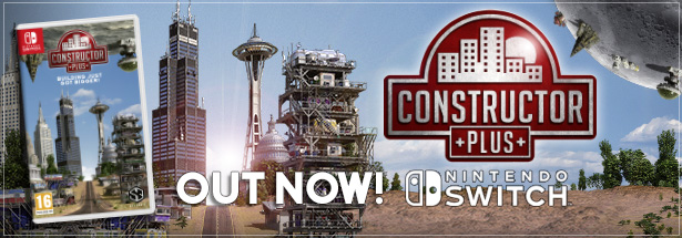 Constructor Plus: Out Now on Nintendo Switch