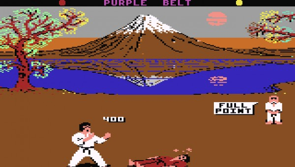 IK C64 Screens-Karate C64 01