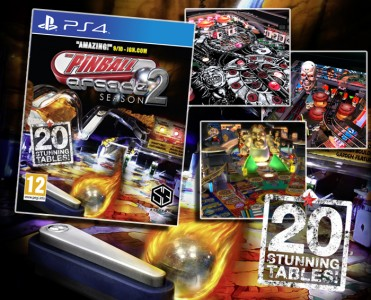 Pinball Arcade: Season 2 is coming to the PS4!
