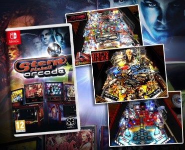 Stern Pinball Arcade hits the Nintendo Switch!